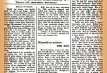 """Sajand tagasi hakkas Kuressaares ilmuma uus ajaleht  """"Hääl"""""""