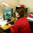 Tööturuameti Saaremaa osakonna eestvedamisel ja Euroopa sotsiaalfondi abil muretseti nägemispuudega naisterahvale ligi 30000 krooni maksvad arvutiseadmed, mis oluliselt tema tööd kergendavad.