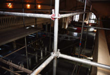 Laurentiuse kiriku restauraatoreid üllatas puidumardikas