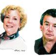 Barbara Burrows ja Alex Khieninson on kaks ameeriklast, kes möödunud aastal üle ookeani Saaremaale kolisid ning Kuressaares oma keelekooli New York Institute asutasid.