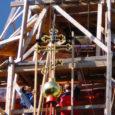 Esmaspäeval viidi EAÕK Kuressaare Püha Nikolai kiriku torni tagasi üles kullatud rist, mis võeti sealt alla jaanuarikuus ja millega algas linna vanima sakraalhoone n-ö päris restaureerimine.
