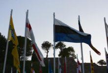 Eesti lipp tagurpidi vardas