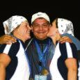 Saarte mängude kolmas võistluspäev oli edukas Saaremaa koondisele, kes võitis esimese kuldmedali. Sellega sai hakkama Genro Paas meeste kuulitõukes. Päevale lisasid sära ka odanaiste Leana Vahteri ja Kristi Väli hõbe- ja pronksmedal.