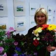 """Kolmapäeval avas Külliki Järvila Saaremaa kunstistuudios näituse """"Suveakvarellid""""."""