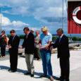 Reedel kuulutati Ruhnu saare Ringsu sadama rekonstrueerimistööde esimene ehitusjärjekord pidulikult lõppenuks ja sadam avatuks.
