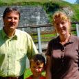 Madis Kreemi ja tema perekonnaga kohtusime ühel kaunil suvepäeval Kuressaare lossipargis.