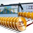 Lähiajal kavatseb Kuressaare linnavalitsus kuulutada välja rahvusvahelise hanke 45 miljoni krooni suuruse laenu võtmiseks. Sellest 16 miljonit võetakse veel käesoleval aastal, 29 miljonit krooni aga järgmisel aastal.