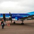 Eile tegi Estonian Air Regional esimese ametliku lennu liinil Tallinn–Kuressaare–Stockholm. Vahepeatusel Kuressaare lennujaamas vajas raudlind täiendavat tehnilist kontrolli, mistõttu väljalend viibis.