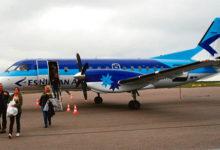 Estonian Airi avalend Stockholmi algas viibimistega