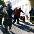 """Eile Kuressaare haiglas toimunud tuletõrjeõppus läks Saaremaa päästekeskuse juhi Margus Lindmäe kinnitusel korda. """"Õppus oli korraline, kuna aeg-ajalt tuleb kontrollida, kuidas toimib koostöö reaalsuses."""""""
