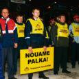 GoBusi Saaremaa osakonna bussijuhid tegid eile hommikul ajalugu, kui viisid ellu oma ammuse ähvarduse korraldada palganõudmiste saavutamiseks hoiatusstreik.