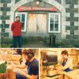 OÜ Muhu Puidukoda sündis 1991. aastal, kui Ain Kollo ja Rene Kipper Nautses viimase kodus esimesed võinoad tegid. 1993 seati end Piiril sisse juba suuremas ruumis ja Rootsi tellijale, tänu kellele ka lintlihvija ja lintsaag saadi, hakati tooteid juba rohkem valmistama – tosinkonda erinevat tooteartiklit tuli igaüht teha tuhat, mis oli tolle aja kohta päris palju.