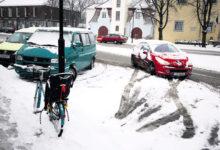 Pikk lumesadu Saaremaal eile suuri probleeme ei tekitanud