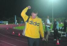 Sander Suurhans viskas uue maakonna rekordi