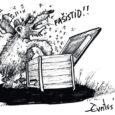 """Eile, 1. aprillil anti Viljandi kultuurimajas karikatuurivõistluse """"Mis imekena maailm!"""" peaauhind Saaremaa karikaturistile Erki Evestusele. Edmund Valtmani nime kandval karikatuurivõistlusel osales sel aastal 32 autorit kokku 103 tööga."""