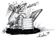 Evestus võitis Viljandi karikatuurivõistluse