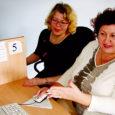 """Tatjana Terpitskaja ja Jelena Poljakova on Tallinna Kopli ametikooli käsitööõpetajad, kes veedavad terve aprillikuu projekti """"Eestikeelse õppe ja õppevara arendamine muukeelsetes kutsekoolides"""" raames Kuressaare ametikoolis. Selleks et õppida eesti keelt ning ühtlasi saada uusi kogemusi oma erialal."""