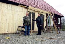 Sõbrad Soomest remondivad Valjala pastoraadihoonet