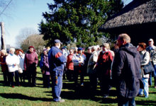 Salme pensionärid tegid jüripäeva reisi seekord Valjala maile