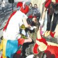 Traditsiooniliselt küüriti linna sünnipäeva auks puhtaks Kuressaare raekoda valvavad lõvikujud. Tänavu hoolitsesid lõvide eest raekoja näitetrupp Funktsioon B (fotol) ja Saaremaa ühisgümnaasiumi luuleteater Krevera. Raekoja valvurid said küüritud, pritsitud ja kaunistatud.