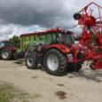 Ettevõtja Vjatšeslav Leedole kuuluva OÜ Audla masinapark täienes eile kõrgtehnoloogilise söödavarumistehnikaga.