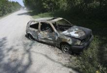 Öine põgenemine lõppes auto vrakiks põlemisega