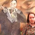 """Alates 15. juunist on Kuressaare linnuse kaitsetorni III korrusel avatud Sirli Heina näitus """"Õudsed pildid"""". Välja on pandud viis suuremõõtmelist maali ja kolm graafilist lehte."""