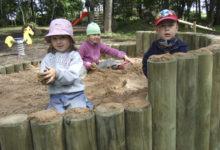 MTÜ Elme Mõis rajas lastele mänguväljaku