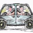 """Põhimõtteliselt on nii, et Scooter auto plärakastis mängimas, endast suuremad kõllid tagaistmele, aknad lahti ning muidugi ise poolenisti sealt väljas, ja minek! Aga kui juhtub nii, et tänava pealt valitakse jälle mõni ohver, keda siis kallatakse üle karjete ja kahtlaste pilkudega? Või end """"mehise mehena"""" parajasti üle autoakna välja kallutatakse, käed lahti lastakse, tasakaal kaotatakse ja aknast välja kukutakse või õigemini lennatakse? Iga kord, kui sarnase olukorra tunnistaja olen, pommitavad mind peas millegipärast küsimused. Tõesti, aga kui..?"""