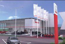 Uus Honda keskus on stiililt Euroopas pioneeriks