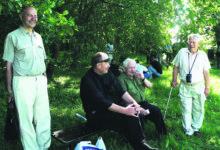 Relva-SS veteranid said kokku Sinimägedes
