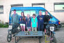 Muhu noored võistlesid sääreväristajatega Abja-Paluojal