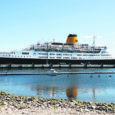 Eile kell 7.36 saabus Saaremaa Sadamasse Inglise lipu all sõitev kruiisilaev Saga Ruby. Sadama ülevaataja Jüri Grišini sõnul oli laeval umbes 650 turisti.