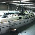 Augusti 21. päevaks peab 12,5 meetri pikkune matkajaht jõudma Helsingi laevamessile. Praegu antakse uuele ja kallile lapsukesele Saare Paadis viimast lihvi.