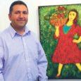 Kolmapäeval avas gruusia kunstnik Levan Mosiashvili (pildil)oma värvika, selge ja esmapilgul lihtsakoelise ning oma sõnul nn vanast koolist inspireeritud näituse Kuressaare Raegaleriis.