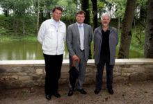 Jaanus Tamkivi võõrustas kolleege kodusaarel