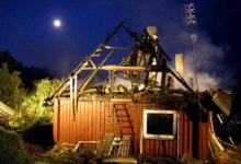 Viira külas põles elumaja