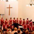 Neljapäeval andsid ETV Lasteekraani muusikastuudio koor ja The Easten Cape Children's Choir Lõuna-Aafrika Vabariigist Kuressaares kaks kontserti, mis mõlemad soojalt vastu võeti.