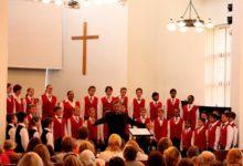 Aafriklased ja tallinlased laulsid saarlastele