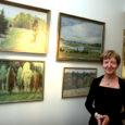 """Saaremaa kunstistuudios avati valiknäitus maalikunstnik Leili Muuga Saaremaa-teemalistest etüüdidest, mis kannab nime """"Nostalgia""""."""