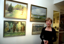 Leili Muuga Saaremaa-etüüdid Saaremaa kunstistuudios