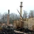 Leisi vallas Ratlas sai ööl vastu eilset surma 24 lammast ja koer, kui suur laudaga talumaja maani maha põles.