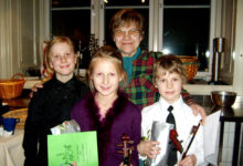 Kuressaare viiuldajad esinesid Rootsis