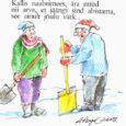 See juhtus tosin aastat tagasi, Tallinnas oli meeletu lumi maas. Linn oli mu jaoks veel võõras, olin just Saaremaa tolmu jalgelt pühkinud, et kõrgharidust omandama hakata.