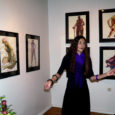 Laupäeval avati Kuressaare Raegaleriis Anna Litvinova-Merilo maalide ja joonistuste näitus. Tööd on kunstnikul valminud läinud aastal Mehhikos ning peamiselt kohtabki tema taiestel sealseid inimesi ning veidi ka loodust – eriilmelisi ja eksootilisi taimi.