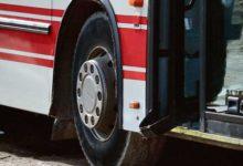 Koolilapsi vedanud bussil kukkus roolivarras küljest