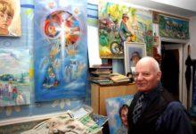 Kunstnik Vares maalis esmakordselt altarimaali