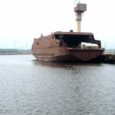Laupäeva keskpäeval toimus Klaipedas Fiskerstrand BLRT tehases Väinamere esimese uue parvlaeva korpuse vaheveeskamine.