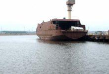 Väinamere uus laev käis korra vees