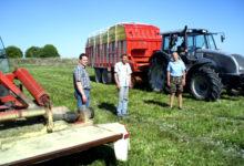 Saaremaa põllumehed alustasid sööda varumist